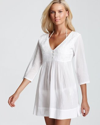 Shoshanna Embroidered Cover Up
