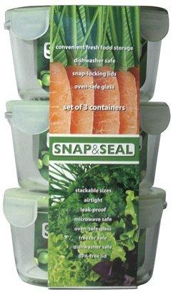 Artland snap & seal 3-pc. round storage set