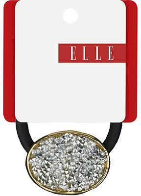 Elle Silver Rock Crystal Ponytailer