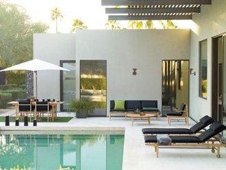 """Design Within Reach Tuuci® Hexagon Shade, Aluma-TeakTM"""""""