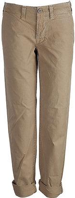 J Brand Khaki 7/8 Cotton Pants Loose Fit