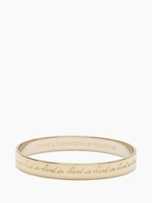 Kate Spade Hand in hand idiom bangle