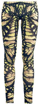McQ by Alexander McQueen Butterfly-print leggings