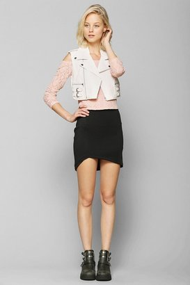 Urban Outfitters This Is A Love Song Vendetta Leather Vest