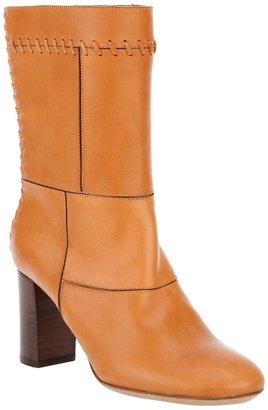 Chloé patchwork boot