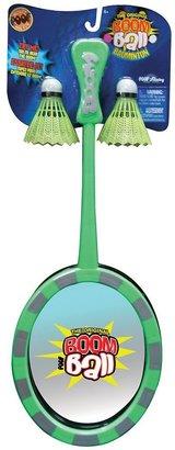 Poof boom ball badminton