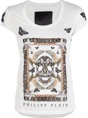 Philipp Plein 'Butterfly Skull' printed t-shirt