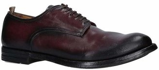 Officine Creative Leather Derby Lace-Up Shoes