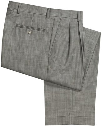Rendezvous by Ballin Ballin Dover Multi-Check Dress Pants - Pleated, Cuffed (For Men)