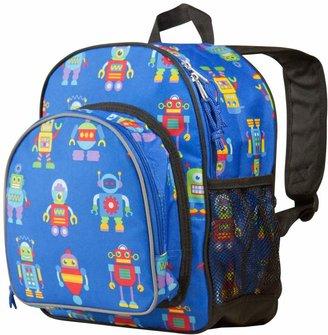 Olive Kids Wildkin Robots Pack 'n Snack Backpack - Kids