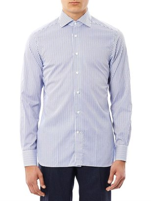 Zegna Stripe cotton shirt
