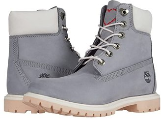 Timberland 6 Premium Boot (Wheat Nubuck) Women's Lace-up Boots