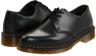 Dr. Martens 1461 Vegan 3-Eye Gibson (Black) Lace up casual Shoes