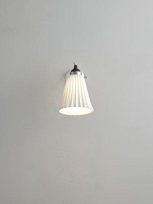 Original BTC Hector Pleat Wall Light