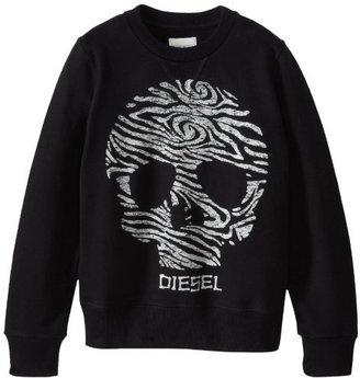Diesel Boys 8-20 Sadry Skull Sweatshirt