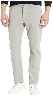AG Adriano Goldschmied The Graduate Tailored Straight SUD Sueded Stretch Sateen (Florence Fog) Men's Casual Pants