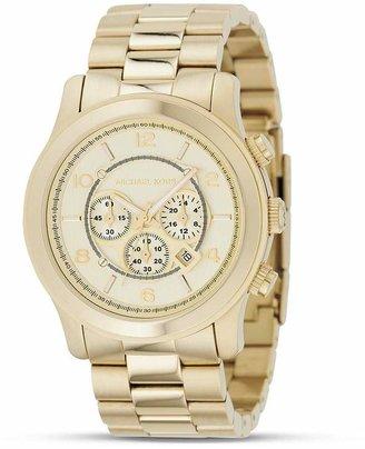 Michael Kors Oversized Chronograph Goldtone Watch, 44 mm