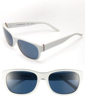Burberry 58mm Logo Hinge Sunglasses