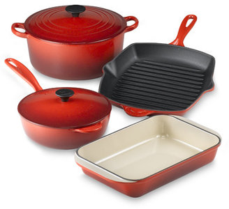 Le Creuset Red 6-Piece Cookware Set