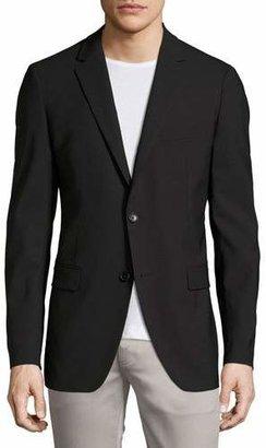 Theory Wellar New Tailor Blazer, Black $435 thestylecure.com