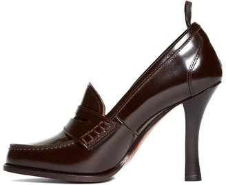 Brooks Brothers Calfskin Loafer Pump