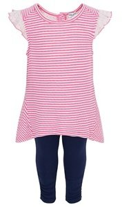 Splendid Pink Tunic & Leggings Set