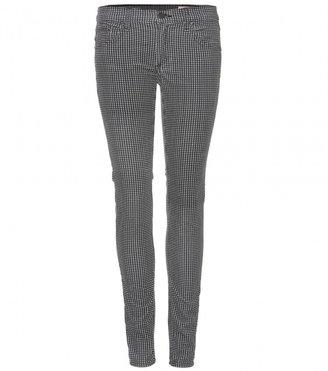 Rag and Bone Rag & Bone Houndstooth-print velvet trousers