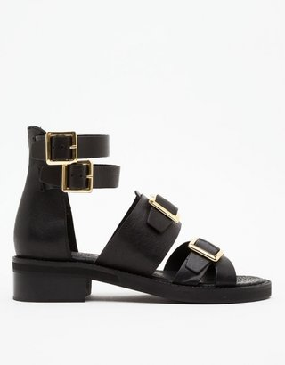 Topshop Fran Heavy Sole Buckled