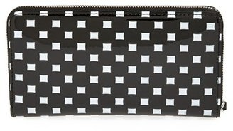 Marc by Marc Jacobs 'Techno - Slim Zippy' Print Wallet
