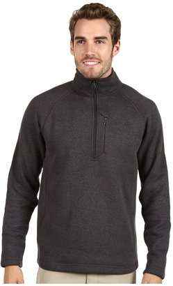 The North Face Men's Gordon Lyons 1/4 Zip Pullover (Asphalt Grey Heather) - Apparel