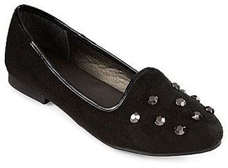 JCPenney Stud-Accented Smoking Slippers