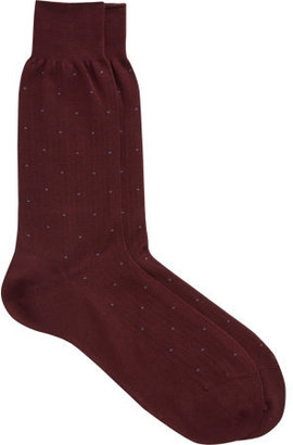 Barneys New York Dot Dress Sock