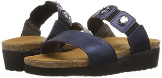 Naot Footwear Michele (Polar Sea Leather) Women's Sandals