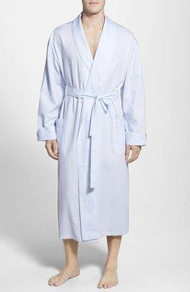 Men's Majestic International 'Signature' Cotton Robe $80 thestylecure.com