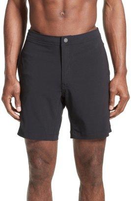Men's Onia 'Calder' Swim Trunks $130 thestylecure.com