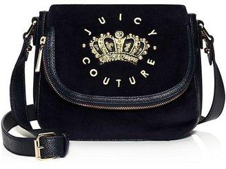 Juicy Couture Hanging Stone Velour Mini Satchel
