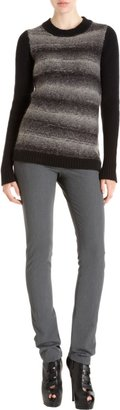 ICB Graduated Stripe Sweater