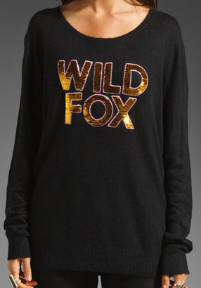 Wildfox Couture White Label Sequin Sweater