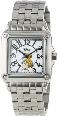 EWatchFactory Disney Women's W000472 Tinker Bell Perfect Square Bracelet Watch
