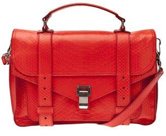 Proenza Schouler Python PS1 satchel