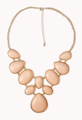 Forever 21 Bejeweled Bib Necklace
