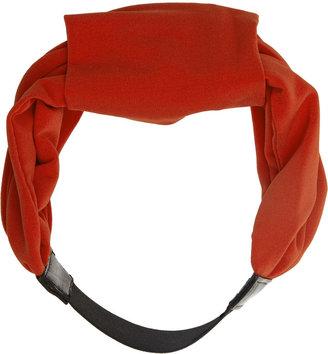 Lanvin Crepe-jersey turban headband