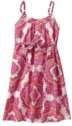 Gap Printed tie dress