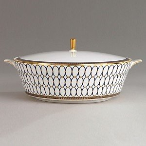 Wedgwood Renaissance Gold Covered Vegetable Dish