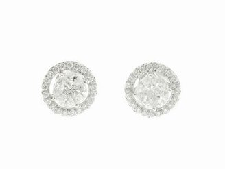 Jude Frances Cipriani Studs in White Gold