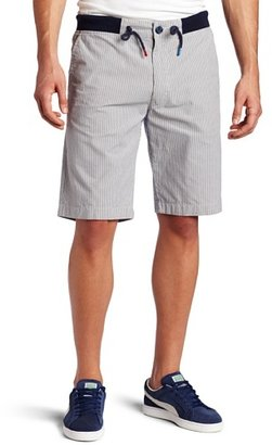 Diesel by Men's Pickett Striped Regular Fit Short