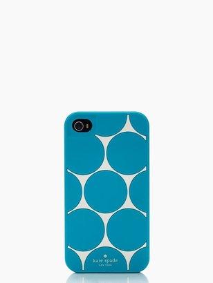 Kate Spade Deborah dot silicone iphone 4 case