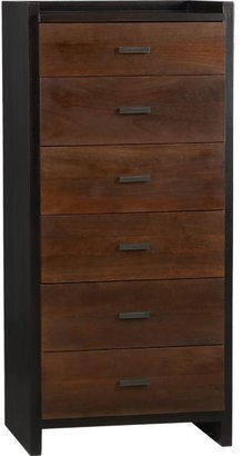 Crate & Barrel Forsyth Six-Drawer Tall Chest