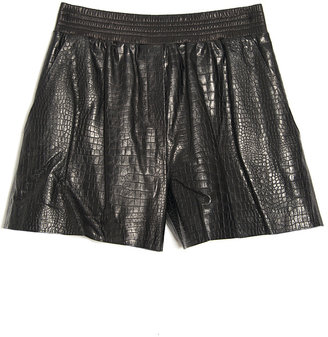 Alexander Wang Leather Boxer Short