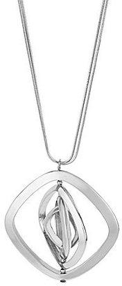 Kenneth Cole New York Long Diamond-Shape Pendant Necklace